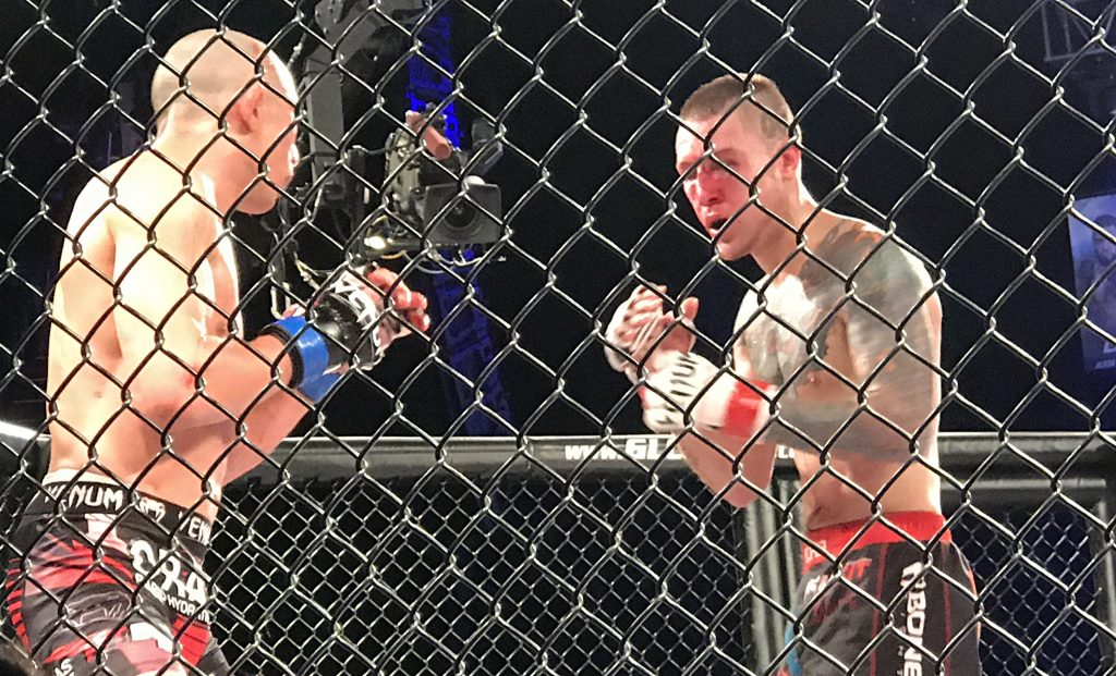bloodied peterson faces higo in round 5